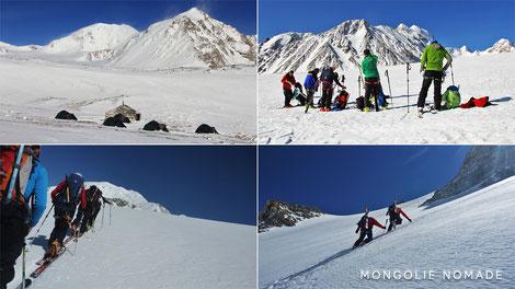 Mongolie à ski de randonnée