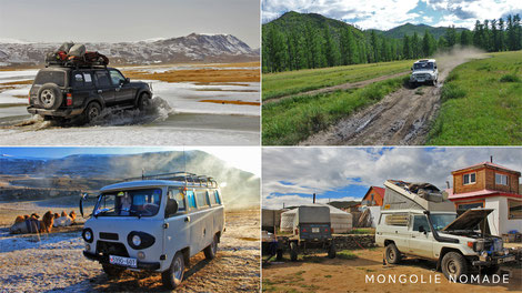 Voyage en Mongolie en 4x4