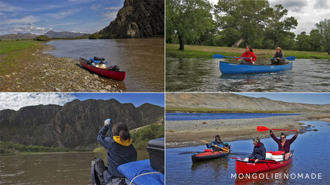 Randonnée sur les rivières de Mongolie