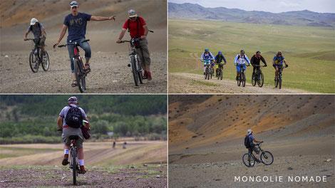 Voyage à vélo en Mongolie