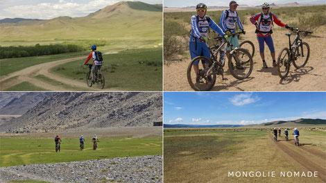 Mongolie à vélo