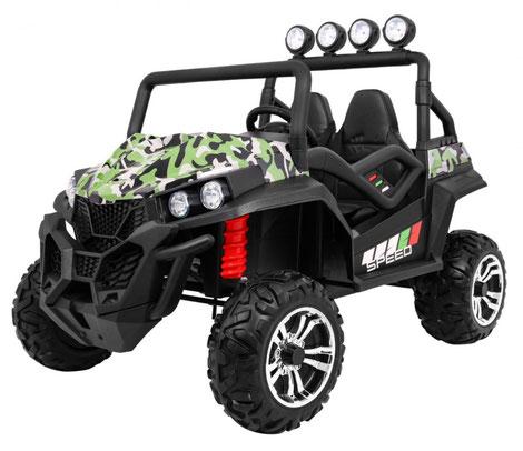 Grand Buggy XXL/4x4/Allrad/4x45 Watt/Kinderbuggy/Kinderauto/Kinder Elektroauto/jungle army/
