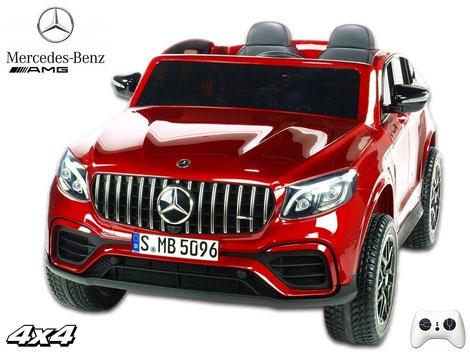 Mercedes/AMG GLC63 S/2 Sitzer/Kinderauto/Kinder Elektroauto/lizensiert/rot lackiert/