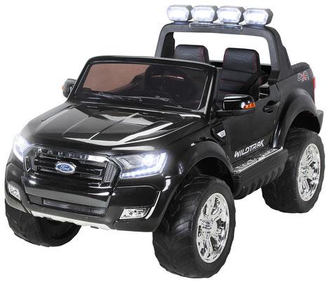 Ford Ranger 2018/Luxus 2.0/Touchscreen/Kinderauto/Kinder Elektroauto/Kinderautos/Kinder Elektroautos/Kinder Auto/schwarz/lizensiert/