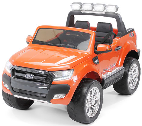 Ford Ranger 2018/Luxus 2.0/Touchscreen/Kinderauto/Kinder Elektroauto/Kinderautos/Kinder Elektroautos/Kinder Auto/orange/lizensiert/