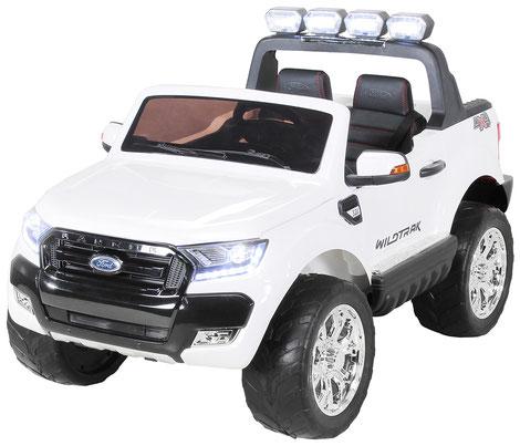 Ford Ranger 2018/Luxus 2.0/Touchscreen/Kinderauto/Kinder Elektroauto/Kinderautos/Kinder Elektroautos/Kinder Auto/weiss/lizensiert/