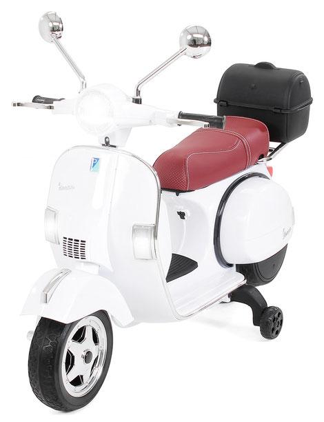Vespa PX150/Kinder Elektroroller/weiß/Kinder Motorrad/Kinder Motorräder/Kinderauto/Kinder Elektroauto/Kinderautos/Kinder Elektroautos/Kinder Fahrzeuge/