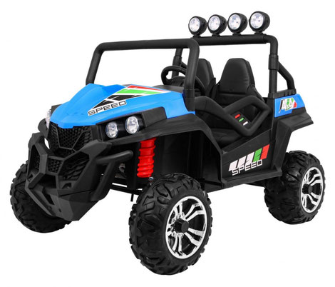 Grand Buggy XXL/4x4/Allrad/4x45 Watt/Kinderbuggy/Kinderauto/Kinder Elektroauto/blau/
