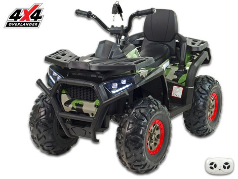 X-Men 900 4WD/4x4/Allrad/4x45 Watt//Kinderquad/Kinderauto/Kinder Elektroauto/Dschungle Army/