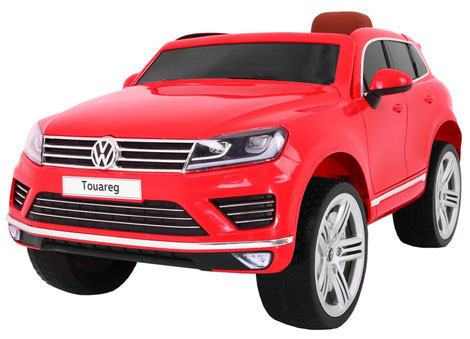 VW/Touareg/Kinderauto/Kinder Elektroauto/Kinderautos/Kinder Elektroautos/Kinder Auto/rot/lizensiert/