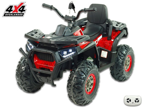 X-Men 900 4WD/4x4/Allrad/4x45 Watt//Kinderquad/Kinderauto/Kinder Elektroauto/rot/