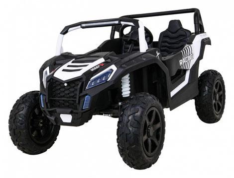 UTV Buggy 2000ME High Speed/High Speed/15Km/24V/Kinderbuggy/Kinderauto/Kinder Elektroauto/2 Sitzer/weiß/