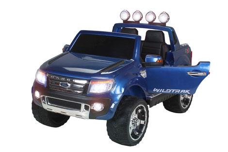 Ford Ranger 2017/Kinderauto/Kinder Elektroauto/Kinderautos/Kinder Elektroautos/Kinder Auto/blau lackiert/lizensiert/