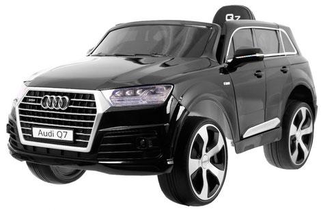 Audi Q7 2019/2x 45Watt/Kinderauto/Kinder Elektroauto/schwarz lackiert/lizensiert/
