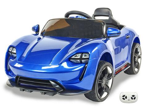 Neon Racer/Kinderauto/Kinder Elektroauto/Kinder Fahrzeuge/blau lackiert/