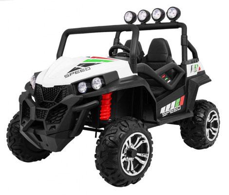 Grand Buggy XXL/4x4/Allrad/4x45 Watt/Kinderbuggy/Kinderauto/Kinder Elektroauto/weiß/