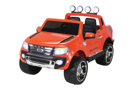 Ford Ranger 2017/Kinderauto/Kinder Elektroauto/Kinderautos/Kinder Elektroautos/Kinder Auto/orange lackiert/lizensiert/