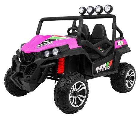 Grand Buggy XXL/4x4/Allrad/4x45 Watt/Kinderbuggy/Kinderauto/Kinder Elektroauto/pink/
