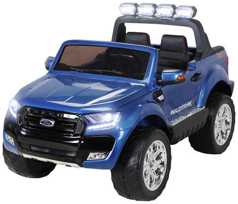 Ford Ranger 2018/Luxus 2.0/Touchscreen/Kinderauto/Kinder Elektroauto/Kinderautos/Kinder Elektroautos/Kinder Auto/blau lackiert/lizensiert/