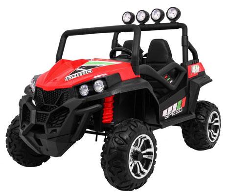 Grand Buggy XXL/4x4/Allrad/4x45 Watt/Kinderbuggy/Kinderauto/Kinder Elektroauto/rot/