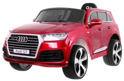 Audi Q7 2019/2x 45Watt/Kinderauto/Kinder Elektroauto/weinrot lackiert/lizensiert/
