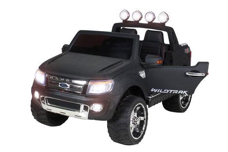 Ford Ranger 2017/Kinderauto/Kinder Elektroauto/Kinderautos/Kinder Elektroautos/Kinder Auto/matt schwarz lackiert/lizensiert/
