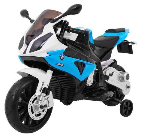 BMW S 1000 RR/Motorrad/Kinder Motorrad/Kinder Motorräder/Kinderauto/Kinder Elektroauto/Kinderautos/Kinder Elektroautos/Kinder Fahrzeuge/blau/