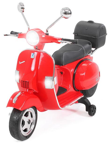 Vespa PX150/Kinder Elektroroller/rot/Kinder Motorrad/Kinder Motorräder/Kinderauto/Kinder Elektroauto/Kinderautos/Kinder Elektroautos/Kinder Fahrzeuge/