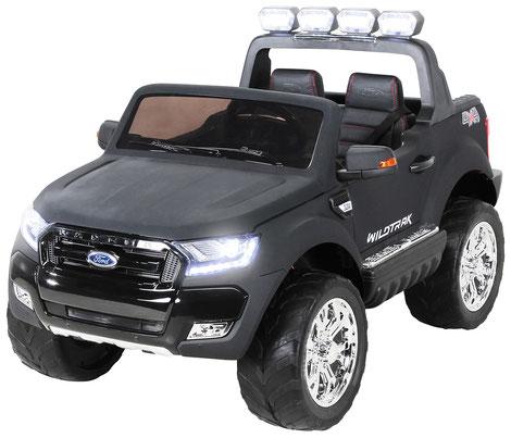 Ford Ranger 2018/Luxus 2.0/Touchscreen/Kinderauto/Kinder Elektroauto/Kinderautos/Kinder Elektroautos/Kinder Auto/matt schwarz/lizensiert/