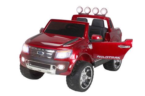 Ford Ranger 2017/Kinderauto/Kinder Elektroauto/Kinderautos/Kinder Elektroautos/Kinder Auto/weinrot lackiert/lizensiert/
