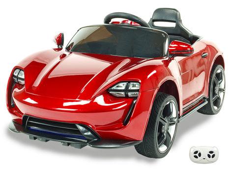 Neon Racer/Kinderauto/Kinder Elektroauto/Kinder Fahrzeuge/weinrot lackiert/