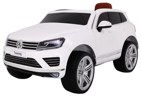 VW/Touareg/Kinderauto/Kinder Elektroauto/Kinderautos/Kinder Elektroautos/Kinder Auto/weiss/lizensiert/