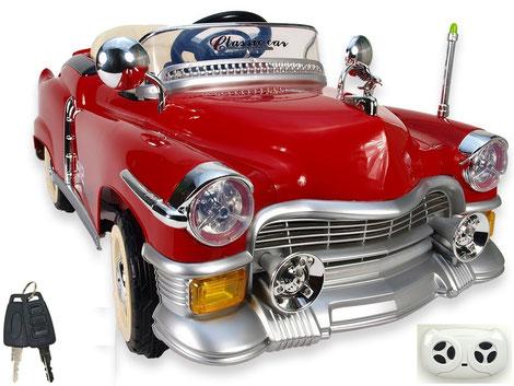 Kuba Retro/Kinderauto/Kinder Elektroauto/Kinderautos/Kinder Elektroautos/Kinder Fahrzeuge/rot/Kinder Auto/