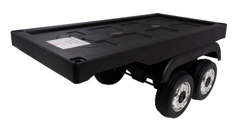 Mercedes/Actros/LKW/Anhänger/Auflieger/Trailer/Kinderauto/Kinder Elektroauto/schwarz/