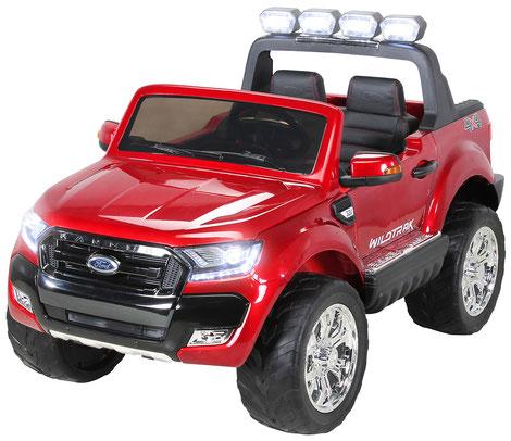 Ford Ranger 2018/Luxus 2.0/Touchscreen/Kinderauto/Kinder Elektroauto/Kinderautos/Kinder Elektroautos/Kinder Auto/weinrot lackiert/lizensiert/