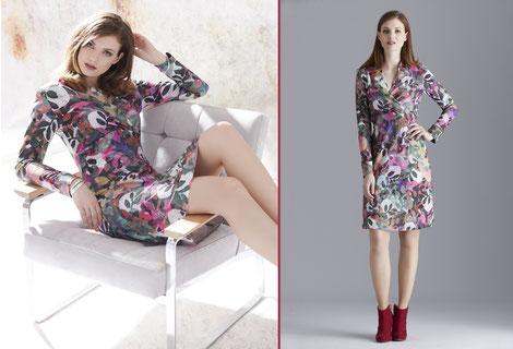 Fox´s Mode Kleid ANDREA A16620 Farbe 345