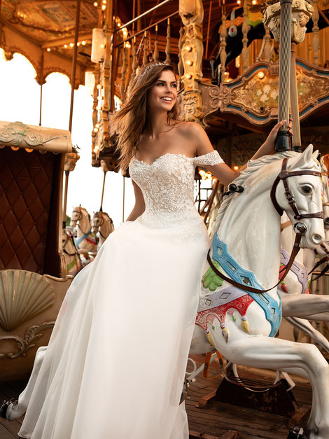Prinzessin Brautkleid aus Hattingen bei Mariella Mode für Braut und Bräutigam