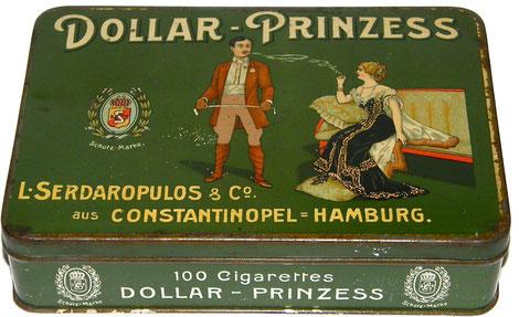 DOLLAR-PRINZESS 100 Cigarettes Serdaropulos Hamburg