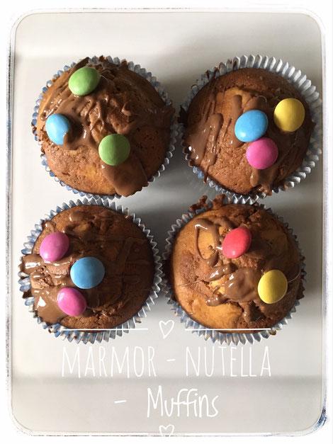Marmor Nutella Muffins Aus Dem Thermomix Familienblog Blog Fur