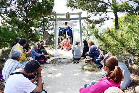 箱島神社の例祭