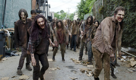 Dead veins!  The walking dead is filmed in Griffin, Georgia, Senoia and surrounding areas. If you legs feel dead visit Truffles Vein Specialists.