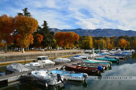 Petit port Aix les Bains Savoie