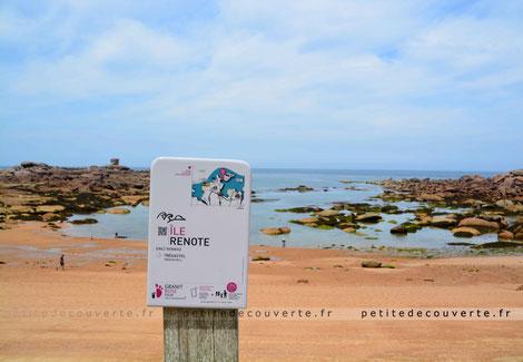 Ile Renote, Côte de Granite Rose, Trégastel, Bretagne