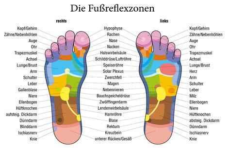Fußrelexzonenmassage in Tübingen