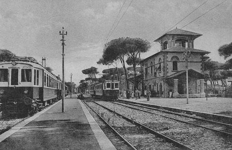La stazione di Marina di Pisa