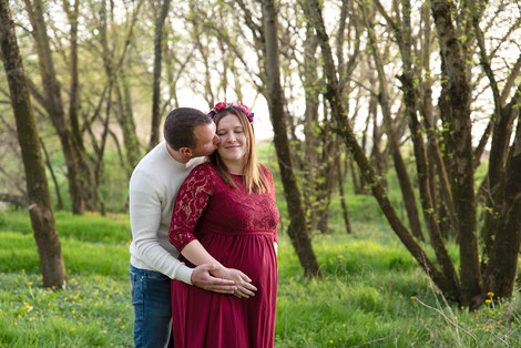 Séance photo grossesse femme enceinte bébé nouveau-né dijon beaune auxonne