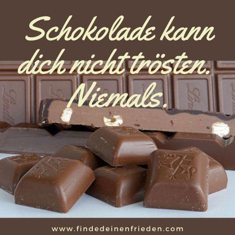 Deine Diät funktioniert nicht? Schokolade kann dich niemals trösten.