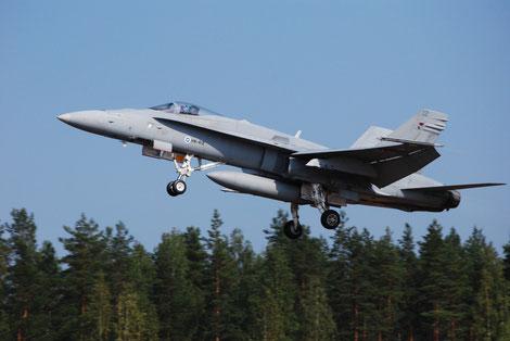F-18C Suomen ilmavoimat