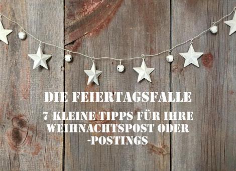 Kleine Tipps für die Weihnachtspost von Jens Martens / Martens PR