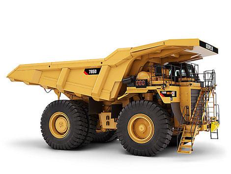 Dúmper Cat 785D para minería